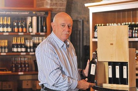 Benildo Perini, diretor-presidente da vinícola
