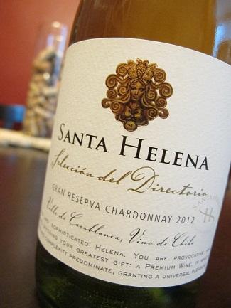 Santa Helena Selección del Directorio Gran Reserva Chardonnay 2012